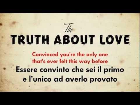 P!nk – The Truth About Love (testo e traduzione)