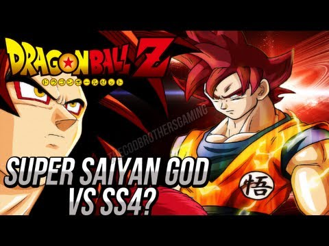 Dragon Ball Z: Super Saiyan God VS Super Saiyan 4 Goku