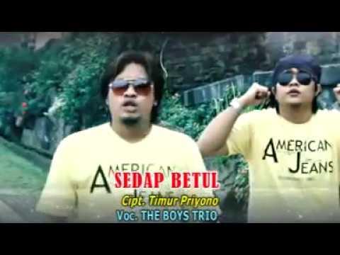 SEDAP BETUL - THE BOYS TRIO POP INDONESIA VOL.1 [Official Music Video CMD RECORD]