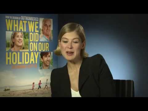What We Did On Our Holiday Movie - Rosamund Pike Interview