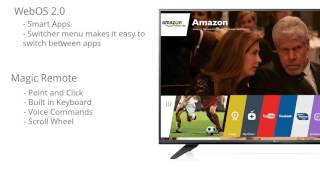 "LG Electronics 79UF7700 79"" 4k Ultra HD Smart TV Review"