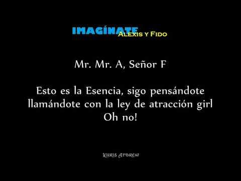 Imaginate - Alexis y Fido (Letra)