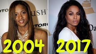 The Evolution of Ciara (2004 - 2017)