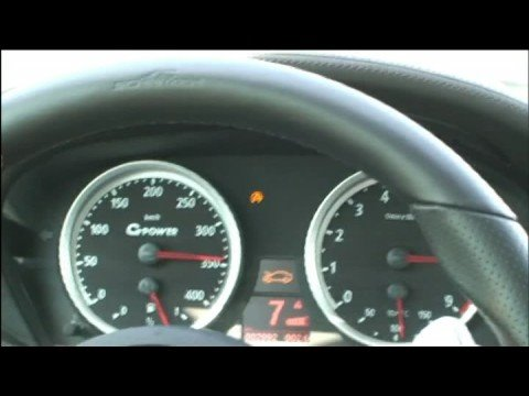 372 Kph BMW M6 By G-Power from Abu Dhabi Motors Video