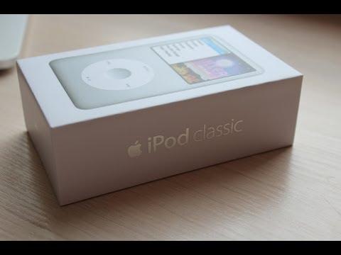 Распаковка IPod Classic 160GB