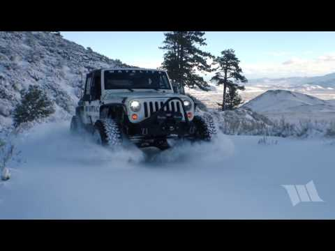 FIRST TRACKS - Part 2 : Moby in the Snowy Mountains with His New 40