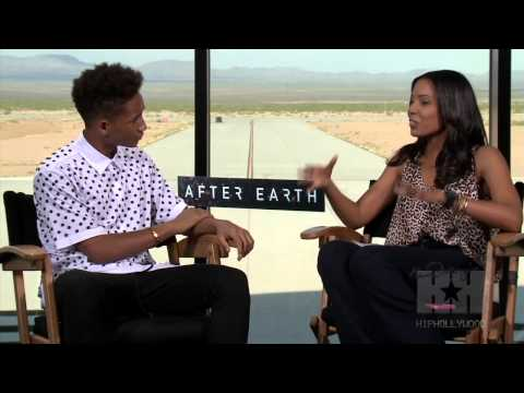 Exclusive: Jaden Smith Talks Being Kissed By Dad Will - HipHollywood.com