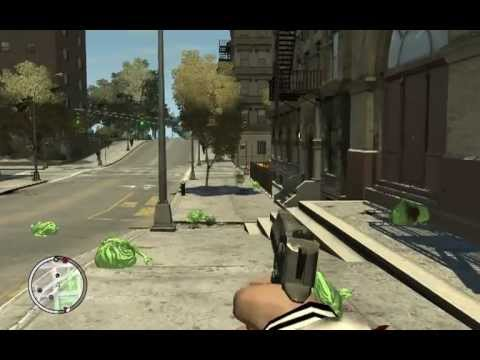 Grand Theft Auto IV – Slimer Ghostbusters