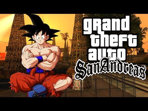Como Instalar O Dragon Ball Total Mod V1 No GTA San Andreas