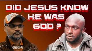 Video: During his life, did Jesus know he was part of a Trinity 3-in-1 God? - Hashim vs PhD Josh