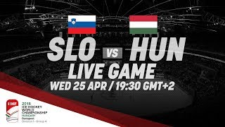 Slovenia - Hungary | Live | 2018 IIHF Ice Hockey World Championship Division I Group A
