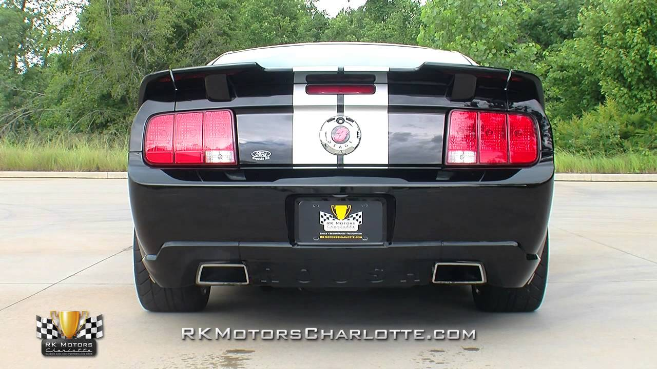 134337 2007 Ford Roush Mustang Stage 3 Youtube
