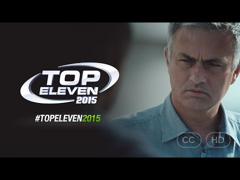 #TopEleven2015 - ft. José Mourinho   Be A Football Manager (Official TV Commercial)