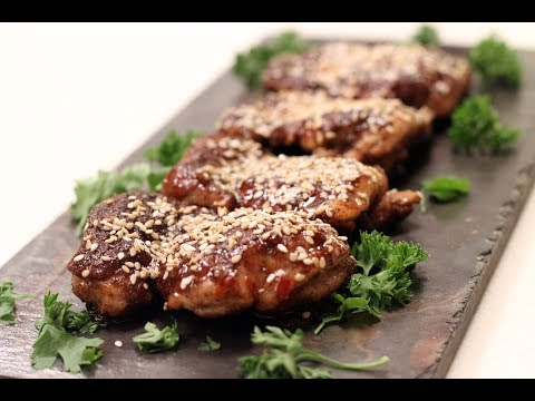 Sesame Crusted Chinese Chicken | Sanjeev Kapoor Khazana