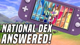 MASUDA FINAL ANSWER: National Dex, Gen 8 Pokedex Cuts in Pokemon Sword and Shield