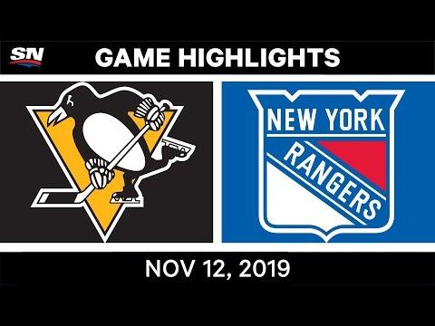 NHL Highlights  Penguins vs. Rangers в Nov. 12, 2019
