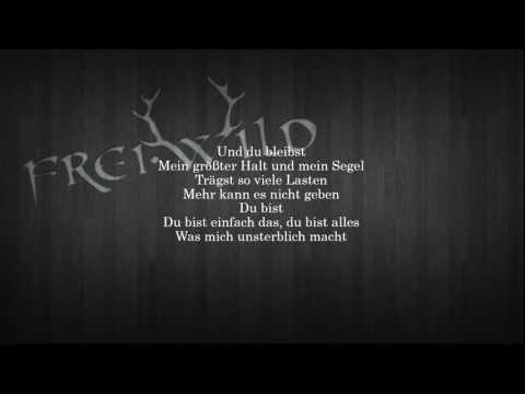 Lyrics - Wie ein schützender Engel