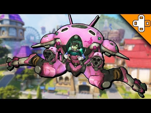 D.Va, are you OK? Overwatch Funny & Epic Moments 322 - Highlights Montage