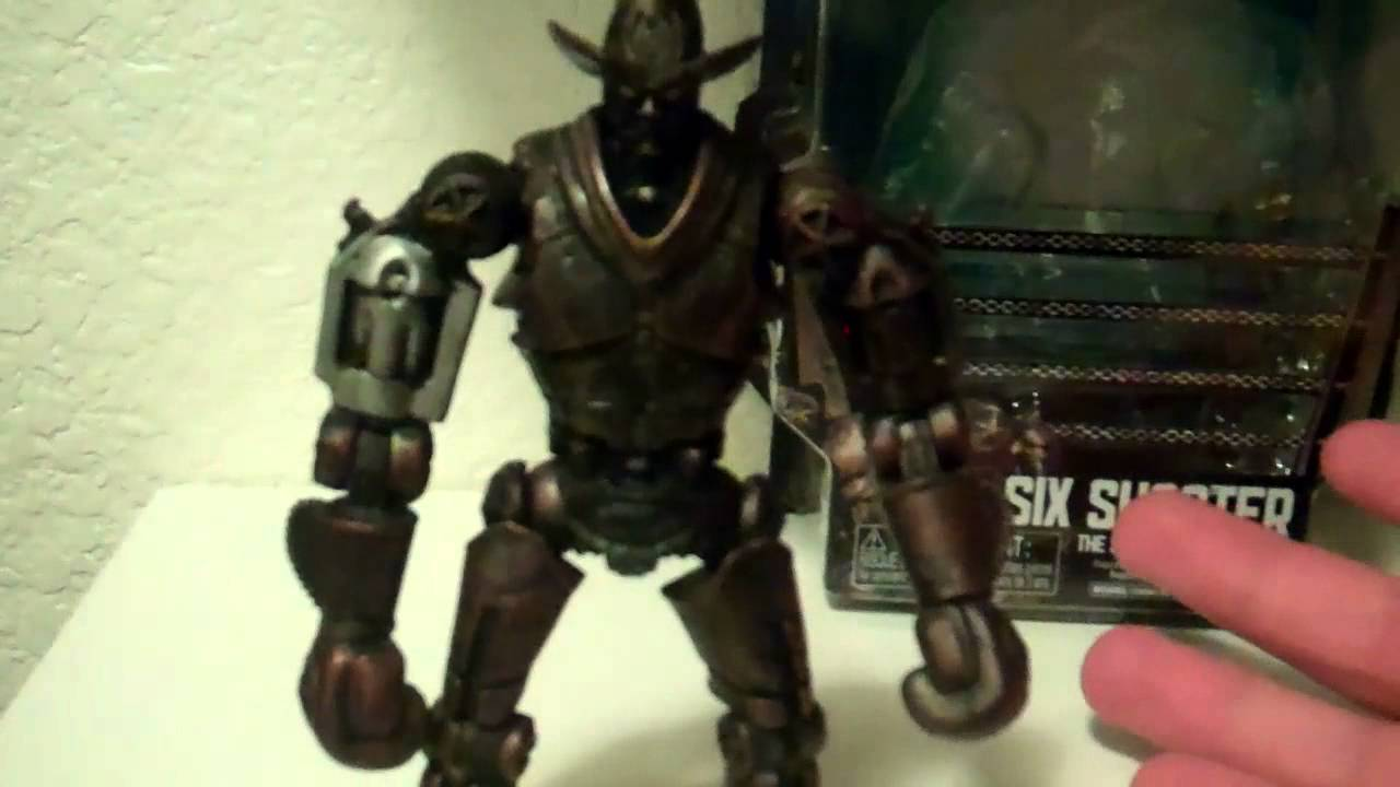 Real Steel Six Shooter...