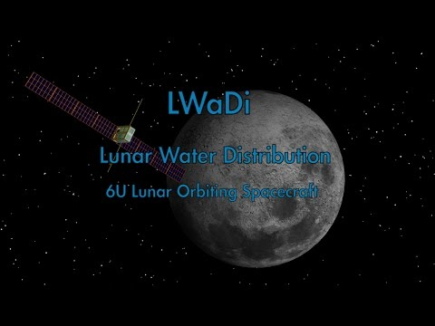 LWaDi Lunar Water Distribution space probe