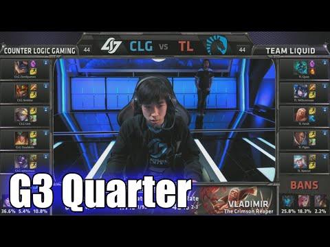 CLG vs Team Liquid | Game 3 Quarter Finals S5 NA LCS Spring 2015 playoffs | CLG vs TL G3