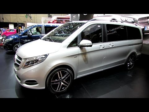 2015 Mercedes V-Class V250 Edition1--Exterior, Interior Walkaround-Debut at 2014 Geneva Motor Show