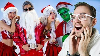 SANTA der BOSS feat. EXSL95 (Musikvideo) | Julien Bam | REACTION