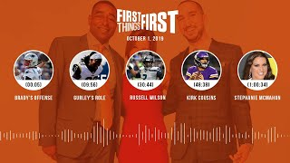 First Things First Audio Podcast (10.1.19)Cris Carter, Nick Wright, Jenna Wolfe | FIRST THINGS FIRST