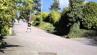Longboard Freeride: Grippins 81a, Serves one