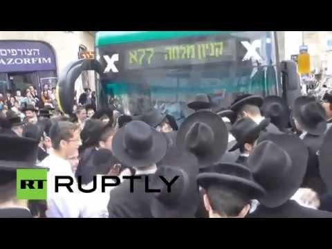 В Израиле ортодоксальные евреи выступили против призыва в армию