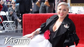 P!NK - Hollywood Walk of Fame Ceremony - Live Stream