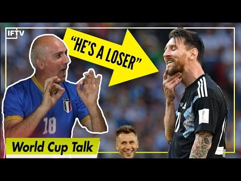 MESSI IS A LOSER CASSANO WOULD NEVER MISS A PENALTY  Serie A Podcast 26