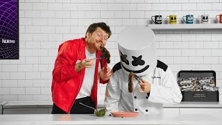 Argentinian Churrasco con Chimichurri with Scotty Sire | Cooking with Marshmello