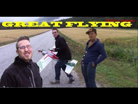 Great flying - Maidens - Crash - Funny RC club