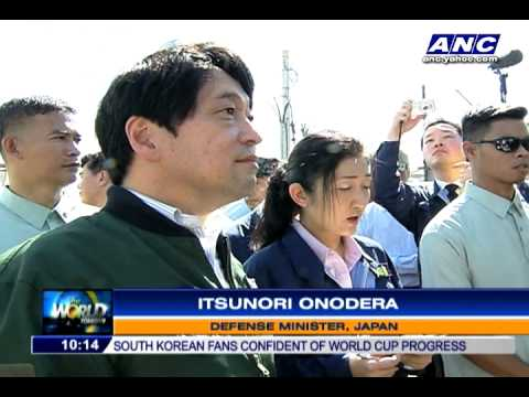 Japan helps Typhoon Yolanda (Haiyan) survivors