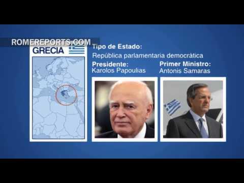 El Papa se reunirá con el presidente de Grecia, Karolos Papoulias