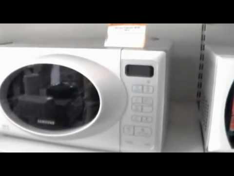 Видеообзор СВЧ печь Samsung