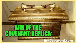 Large WOOD Ark of the Covenant Life Size Replica FULL MOVIE!