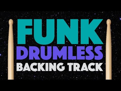 Funk Drumless Play Along For Drums