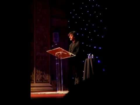 Neil Gaiman reading from Stardust - Pittsburgh, PA on 11/14/12