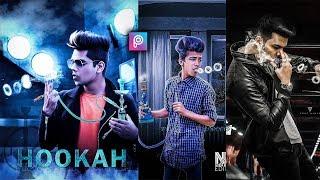 PicsArt Hookah Photo Editing Tutorial in picsart Step by Step in Hindi - Taukeer Editz