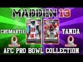 MUT 13: AFC Pro Bowl Collection + Elvis Dumervil