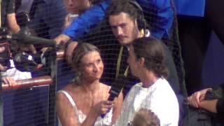 Tatiana Golovin interviews Zlatan Ibrahimovic