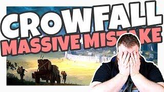 Is Crowfall Making A MASSIVE MISTAKE?
