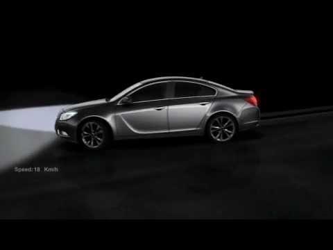 Opel Insignia - освещение дороги, часть 2
