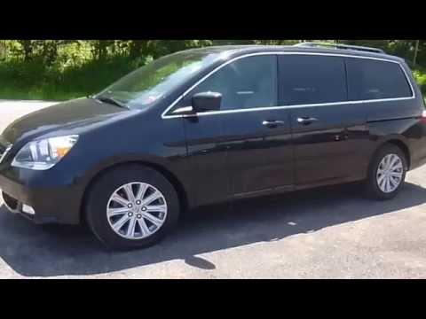 2007 Honda Odyssey Touring w/DVD RES/Nav Van Sodus NY | Lessord Chrysler Products
