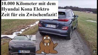 10.000 Kilometer mit dem Hyundai Kona Elektro - Mein Zwischenfazit 😎