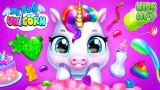 My Baby Unicorn - Care for a cute rainbow pet! (TutoTOONS) - Full Episode - Best App For Kids