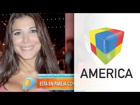 Andrea Rincón, enamorada de una DJ