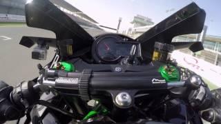 Kawasaki H2R onboard at Losail | Onboard | Motorcyclenews.com